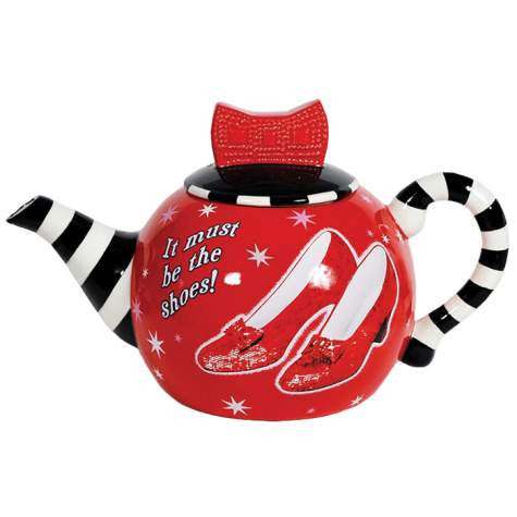 Ruby Slippers Teapot
