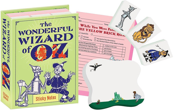 Denslow Wizard of Oz Sticky Notes