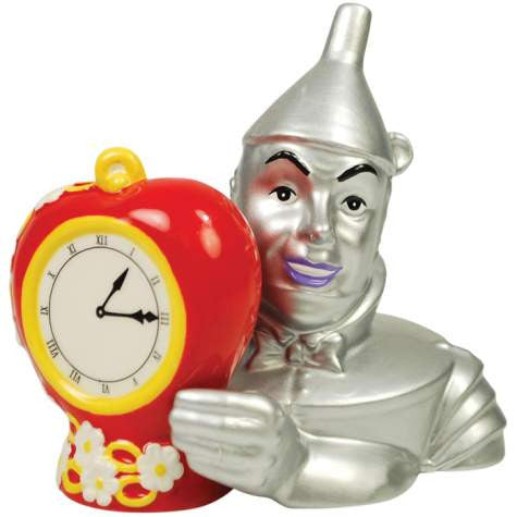 Tin Man and Ticking Heart Salt and Pepper Shaker Set