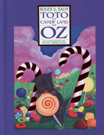 Toto in Candyland of Oz