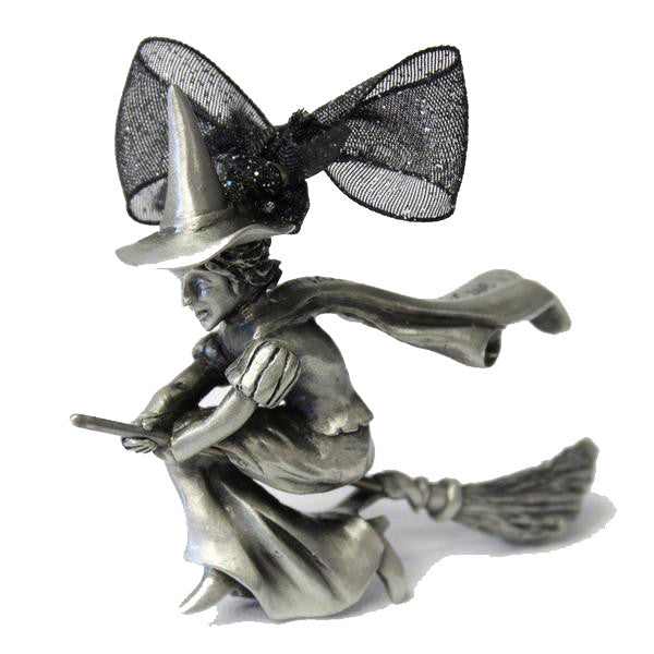 Wicked Witch 3D Pewter Ornament
