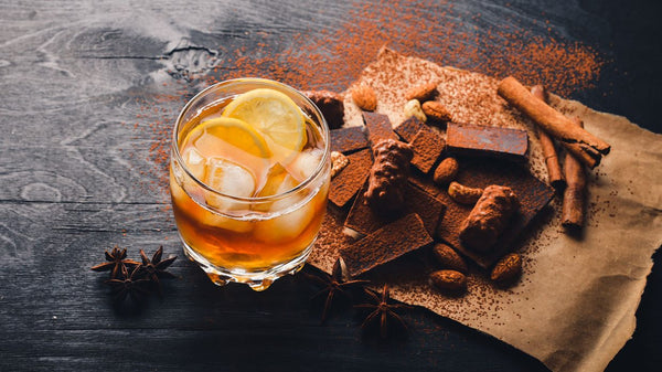 whisky y chocolate