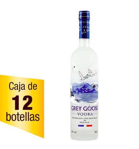 Vodka Grey Goose 750 ml Caja de 12