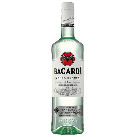 Ron Bacardí Blanco 980ml