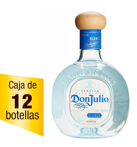 Tequila Don Julio blanco 700 ml Caja de 12
