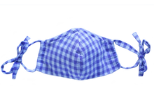 Load image into Gallery viewer, LAVENDER GINGHAM MASK