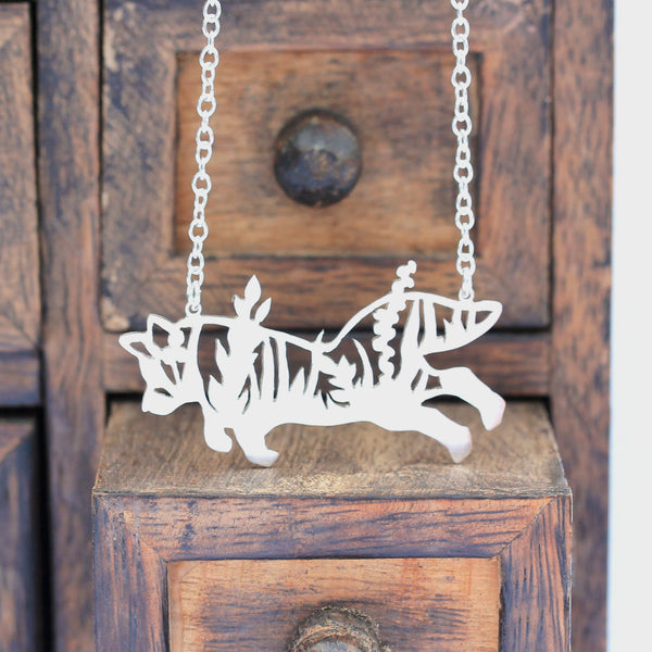 Forest Fox Necklace