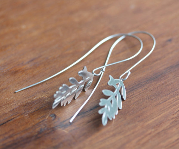 Lavender Hook Earrings