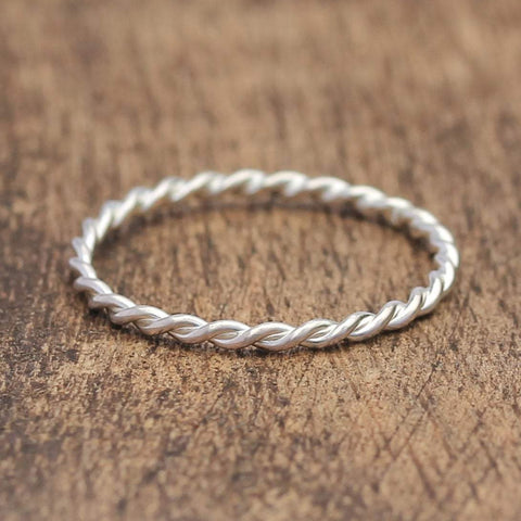 Twist Stacking Ring