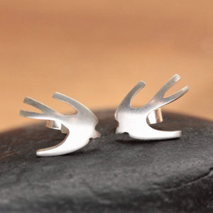Tiny Swallow Earrings