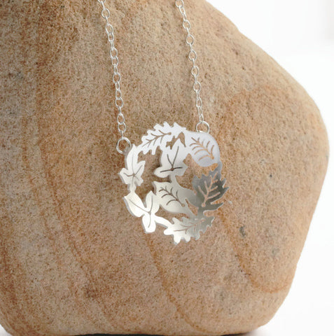 Dancing Leaves Necklace