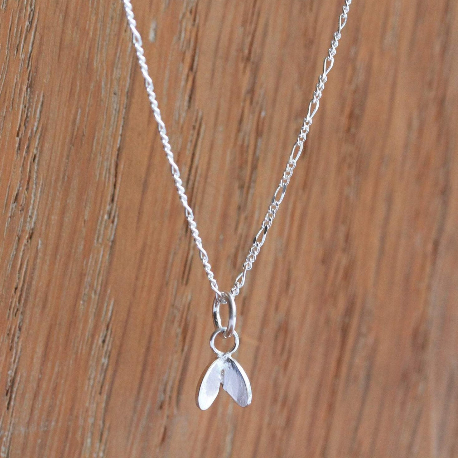 Cress Leaf Necklace