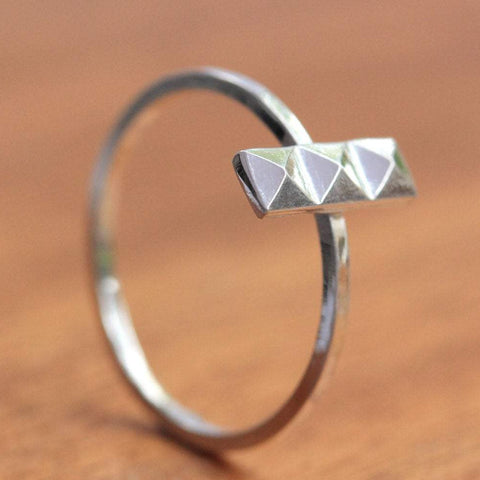 Pyramid Stacking Ring