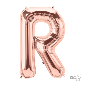 Giant Letter Rose Gold 86cm