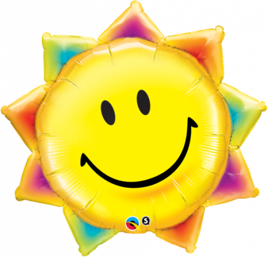 Sunshine Smile Foil Balloon