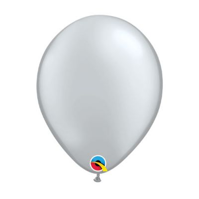 Metallic Silver 28cm Balloon