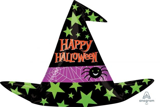 Witches Hat Foil Balloon