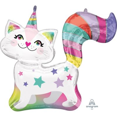 Caticorn Supershape Foil Balloon