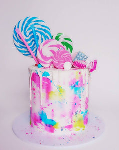 Candy Marble Theme Cake