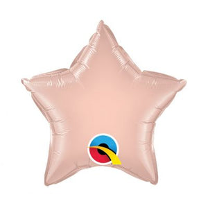 Rose Gold Star Foil 50cm Balloon