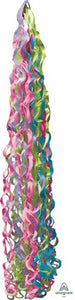 Jewel Tone Tissue Paper Balloon Tail