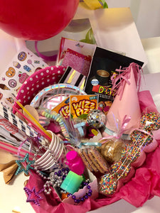 Disco Pink & Silver Themed Party Box