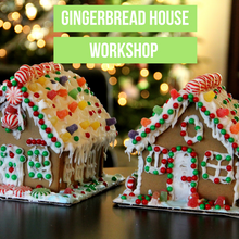 Load image into Gallery viewer, Christmas Gingerbread House Workshop