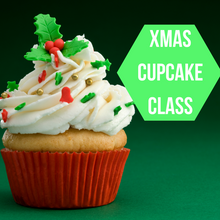 Load image into Gallery viewer, Christmas Cupcake Workshop