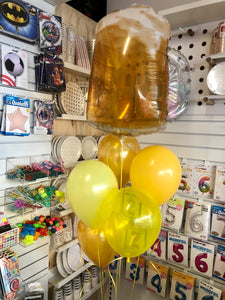 Fathers Day Beer Jug Balloon Bunch