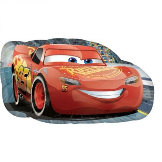 Cars Lighting McQueen Large Foil Balloon