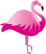 Load image into Gallery viewer, Flamingo Foil Balloon