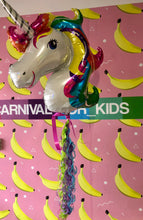 Load image into Gallery viewer, Pastel Rainbow Unicorn Foil Balloon