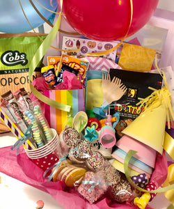 Rainbow Themed Party Box