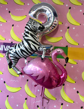 Load image into Gallery viewer, Zebra Foil Balloon