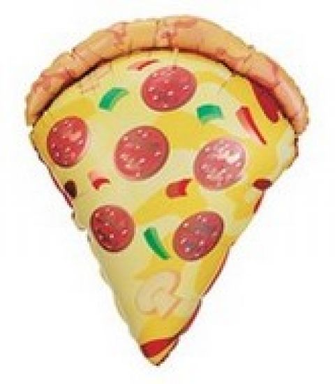 Pizza Slice Jumbo Foil Balloon