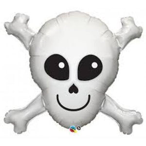 Happy Skull Foil Balloon