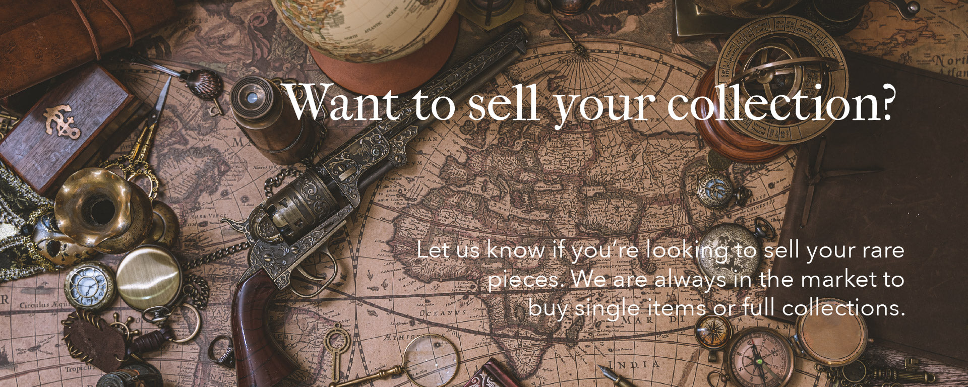 Sell Your Collection Banner