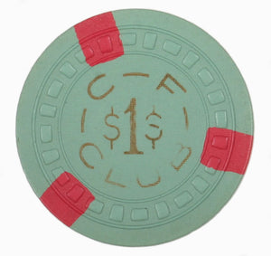 New Orleans Vintage Gaming Chip - Chesterfield Club $1