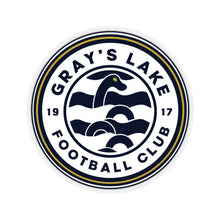 Load image into Gallery viewer, Gray's Lake Classic Logo Kiss-Cut Stickers
