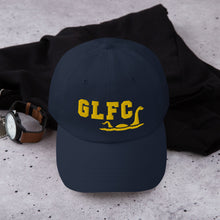 Load image into Gallery viewer, GLFC Gold Monster Dad Hat