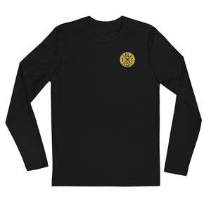 GLFC Retro Badge 2-Sided Long Sleeve Fitted Crew