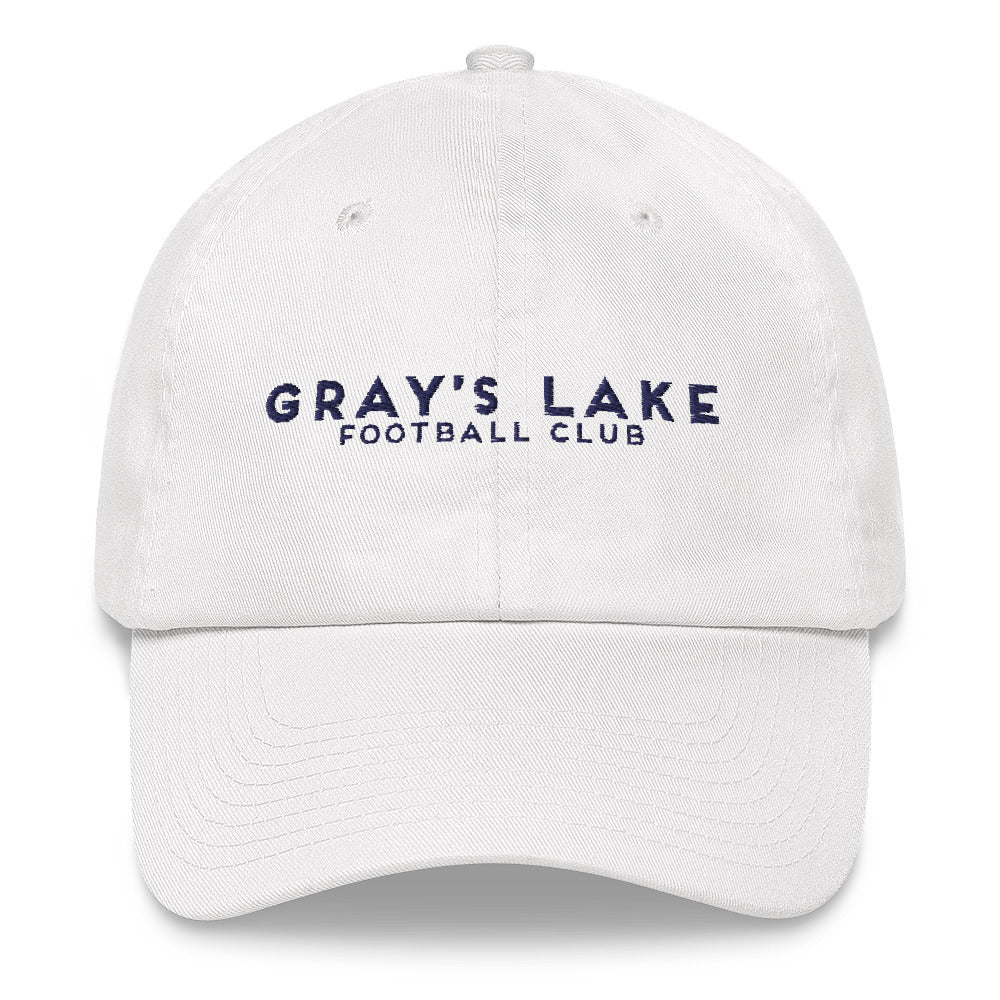 Gray's Lake Script Boater Hat