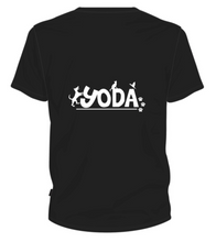 Load image into Gallery viewer, YODA Doggy Momma Tee in Black