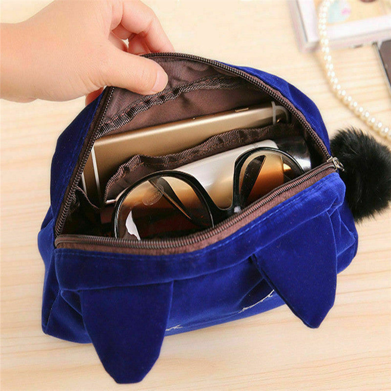 Trousse De Toilette Chat Bleu