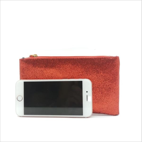 Pochette Maquillage Orange