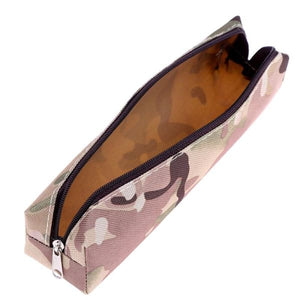 Trousse Scolaire Camouflage Beige