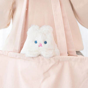 Trousse Scolaire Chat Kawaii - Blanc