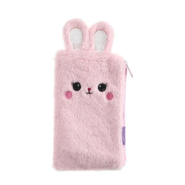 Trousse Scolaire Kawaii Lapin Rose