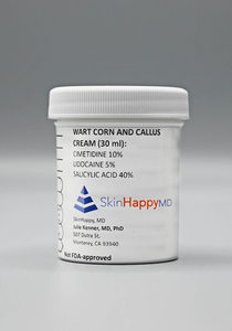 Wart Corn and Callus Cream Rx