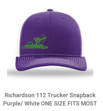 Load image into Gallery viewer, B. A. Bowstrings Richardson 112 Trucker Snapback